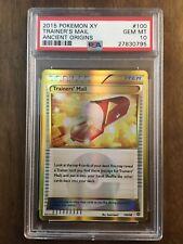 Pokemon XY Ancient Origins Trainer's Mail 100/98 Secret Rare PSA 10