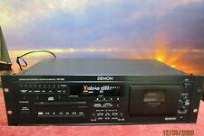 Denon DN-T620 CD-Player-Kassettenrecorder Kombination pitchbar mit Fernbedienung