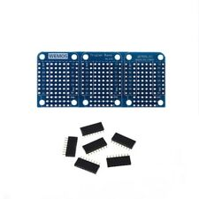 Tripler Base V1.0.0 Module Board with Pins For WEMOS D1 Mini New