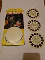Viewmaster Reels X3 -Willo The Wisp BD215-1 215-2 215-3
