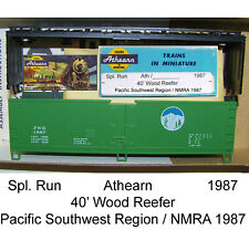 NMRA 1987  40' Wood Reefer  Athearn