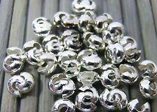 Quetschperlen 50 Stück 3mm Nickelfarbe Quetschkugeln Crimp Beads Kugeln Nickel