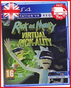 Rick and Morty Virtual Rick-Ality PS4