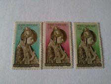 Francobolli Vaticano 1955 Papa Niccolò V serie completa nuova