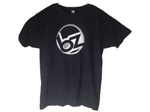 BZ Bodyboards Jeff Hubbard Hubb Autographed T-Shirt Navy Size L Large