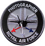 Photographer Royal Air Force RAF MOD Embroidered Patch
