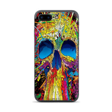Apple iPhone 7 / 8 Plus Skins Decal Wrap colorful skull 1