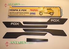 SERIE MODANATURE FOX ADESIVI UTAH 5pz. COLORE NERO VESPA PK XL RUSH 030.503