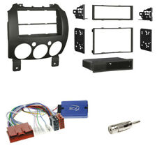 Panasonic Interface für Mazda 2 DE 2007-14 mit OEM Panasonic + 2-DIN Radioblende