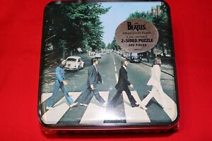 new BEATLES ABBEY ROAD 2-sided puzzel 300 pieces JOHN PAUL RINGO GEORGE