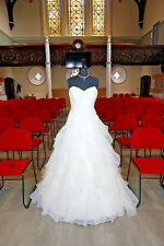 """BRAND NEW WEDDING GOWN """"OPULENCE BY NATALIE M"""" STRAPLESS IVORY 14 ECUADOR"""
