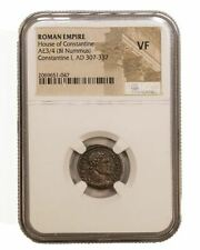 Roman AE of  Constantine I, the Great (AD 272-337) NGC (VF)