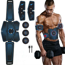 Smart Abs Stimulator EMS Trainer Abdominal Muscle Toning Belt USB Rechargeable
