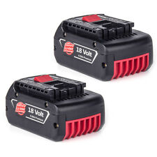 2 New 18V 4.0Ah Lithium Ion Batteries For Bosch BAT620 BAT609 18 Volt Li-ion