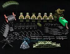 World War Ii Building Blocks Pacific War American Army Soldier Military Diy Toys