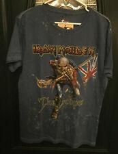 Iron Maiden The Trooper Shirt Lg SWAG NWT Lyrics On Back Rare HTF UK