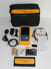 FLUKE NETSCOUT ONE TOUCH AT G2 1TG2-3000 WIFI TESTER VERSIV NETWORK ASSISTANT