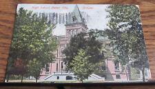 Vintage Postcard High School, Baker City, Oregon OR