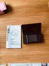 nintendo ds lite console with games