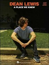 Dean Lewis A Place We Knew Piano Vocal Guitar Music Book SAME DAY DISPATCH