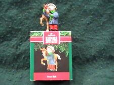 "New 1991 Hallmark Keepsake Christmas Ornament ""Sweet Talk""  with Original Box"