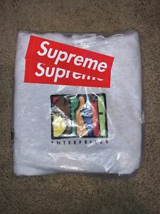 Supreme Enterprises Hooded Sweatshirt (Ash Gray) || Size XL