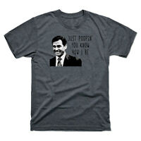 Michael Scott The Office Just Poopin You Know How I Be Men's Tee Cotton T Shirt
