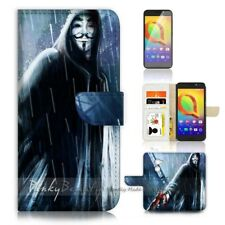 ( For Telstra 4GX Premium ) Case Cover P21290 V for Vendetta