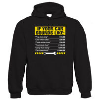 If Your Car Sounds Like, Funny Mechanic Hoodie - Gift for Him Her