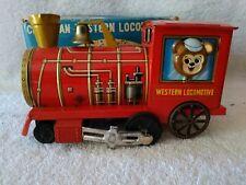 1960's Cragston Western Locomotive Friction Powered 1413-6 Works w/Original Box