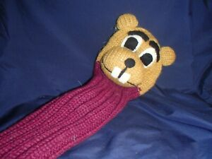 Sunfish GOPHER knit wool DRIVER/FAIRWAY golf headcover
