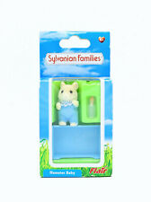 Sylvanian Families Calico Critters - Hamilton Hamster Baby in Blue - Flair