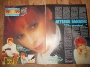 Mylene Farmer - Salut! (15 coupures de presse au choix)