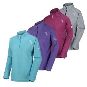 Women's Regatta Montes Golf Walking Half Zip Fleece Jacket Top Jumper RRP £50