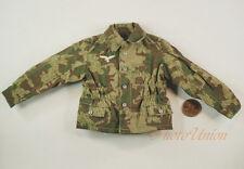 1:6 Figure WW2 GERMAN OFFICER SOLDIER Luftwaffe CAMO Field Jacket UNIFORM DA196