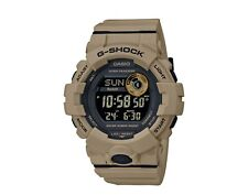 Casio G-Shock Power Trainer Brown Strap Watch GBD800UC-5 / GBD-800UC-5A