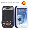 White For Samsung Galaxy S3 i9300 LCD Screen Replacement Digitizer Touch + Frame