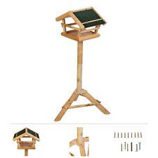 Grafner® Vogelhaus mit Ständer Vogel Futterhaus Vogelhäuschen Holz Kiefernholz