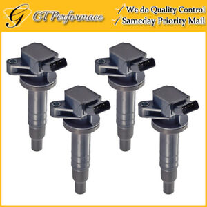 OEM Quality Ignition Coil 4PCS Toyota Corolla Celica Matrix/ Vibe/ Prizm 1.8L
