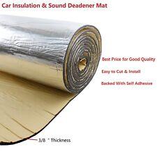 Sound Deadener Insulation / Cars Heat Shield Insulation /Noise Control 12