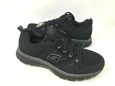 NEW! Skechers Men's FLEX ADVANTAGE Athletic Shoes Black Size:8.5 #51251 f10c a