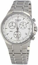 Tissot T0774171103110 Watch Mens Silver Dial Stainless Steel Quartz