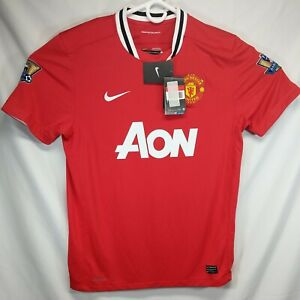 Manchester United Wayne Rooney Jersey 2011 2012 Home Large Mens Jersey Nike