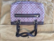 Louis Vuitton Cherry Red Monogram Mini Lin Lucille PM