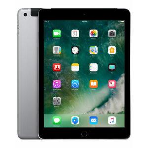 Apple iPad 5. Generation 2017 32GB Wifi Tablet - TOp - Space Grau