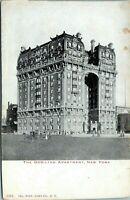 Dorilton Apartment 71st Street 1905 Undivided New York City Postcard