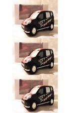 "Lot 3 Peugeot Bipper ""Beep Beep"" 1/64 ""3 Inche"" Diecast NOREV Produit NEUF !!"