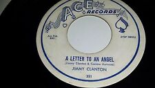 """JIMMY CLANTON A Letter To An Angel / A Part Of Me ACE 551 TEEN ROCK 45 7"""" VINYL"""