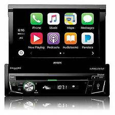 Jensen VX4014 7 inch DVD CarPlay Receiver Single Din Retractable Car Stereo