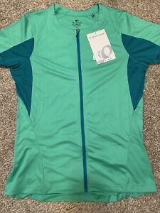 (NWT) PEARL IZUMI Select Women's Cycling Jersey, Gumdrop Green Size XL 11221502